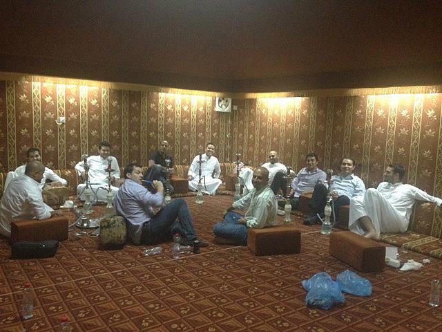 Cena de Mexicanos Colombianos y Arabes Saudíes en Riyadh