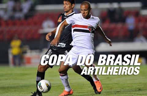 Artilheiros da Copa do Brasil 2012, Artilharia da Copa do Brasil