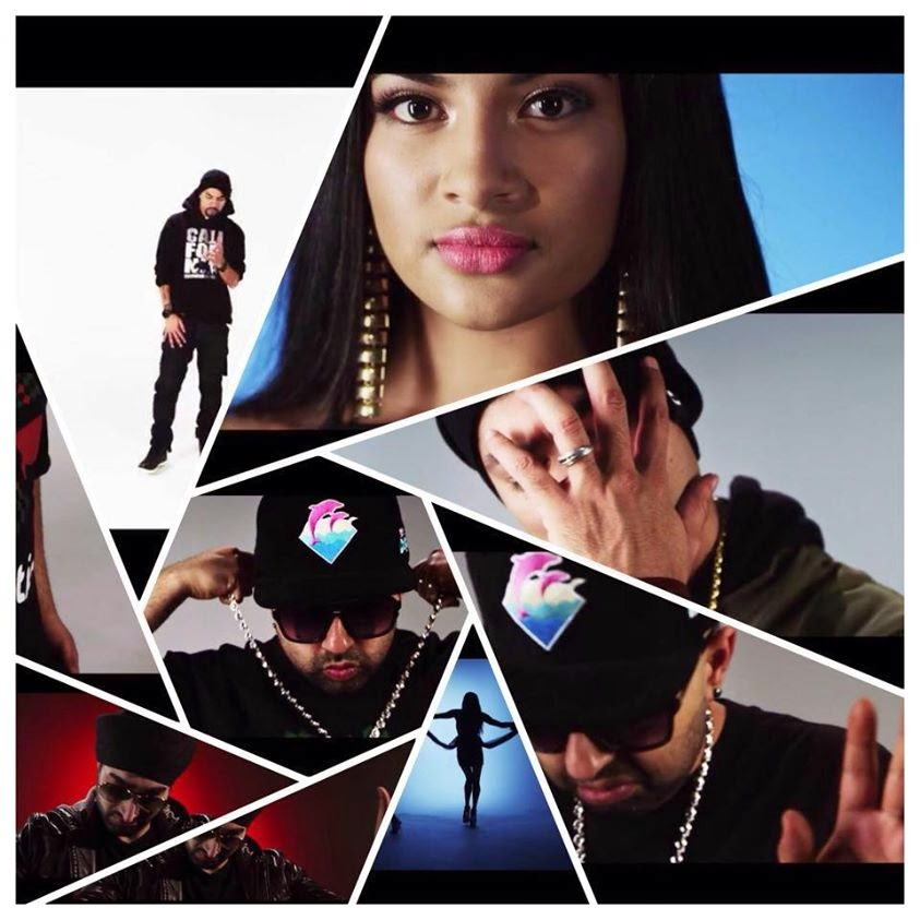 Exclusive - Preet - Haji Springer Feat. BOHEMIA and Pree Mayall (Behind The Scenes) - pesa nasha pyar - desi hip hop