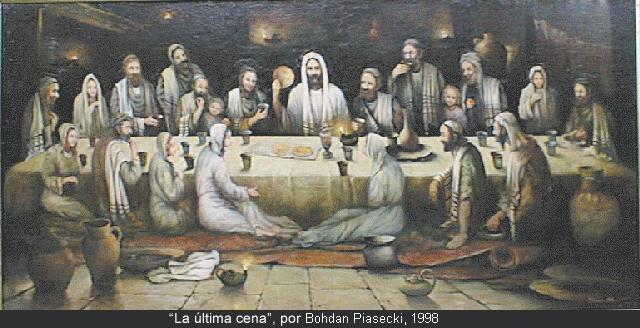 Pintura de la última cena