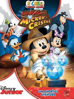 A Casa do Mickey Mouse: Em Busca do Mickey de Cristal - DVDRip Dublado