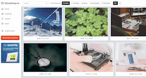 Stocksnap.io adds hundreds of high-resolution photos every week