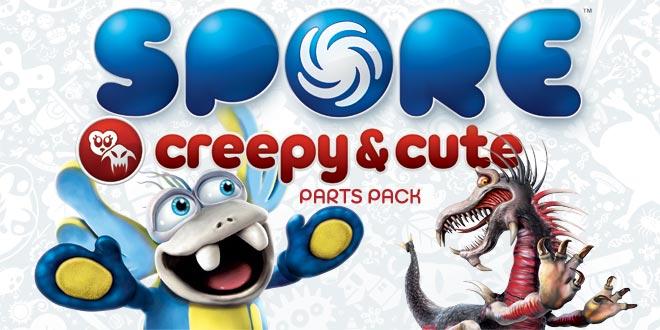 spore creepy & cute parts pack скачать