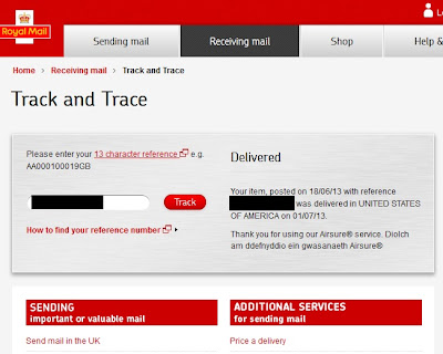 In the royal mail website it says expired and in post office website it says incorrect i sent it on international singed for. The post master asked extra £56 for tracking number. I didnt pay because i .