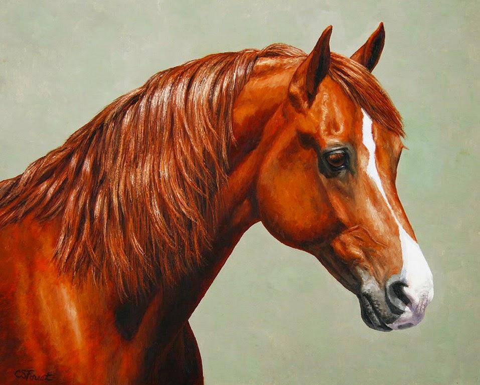 caballos-pintados-en-realismo-al-oleo