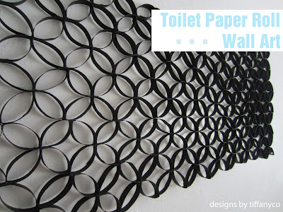 Toilet Paper Roll Wall Art – Designs by TiffanyCo