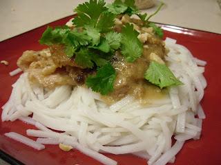 Thai Peanut Chicken with Noodles