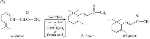 pseudo-ionone (or ψ-ionone)