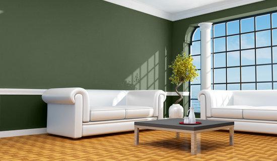 Alicia y sus maravillas verde color de la esperanza - Como pintar una casa rustica ...