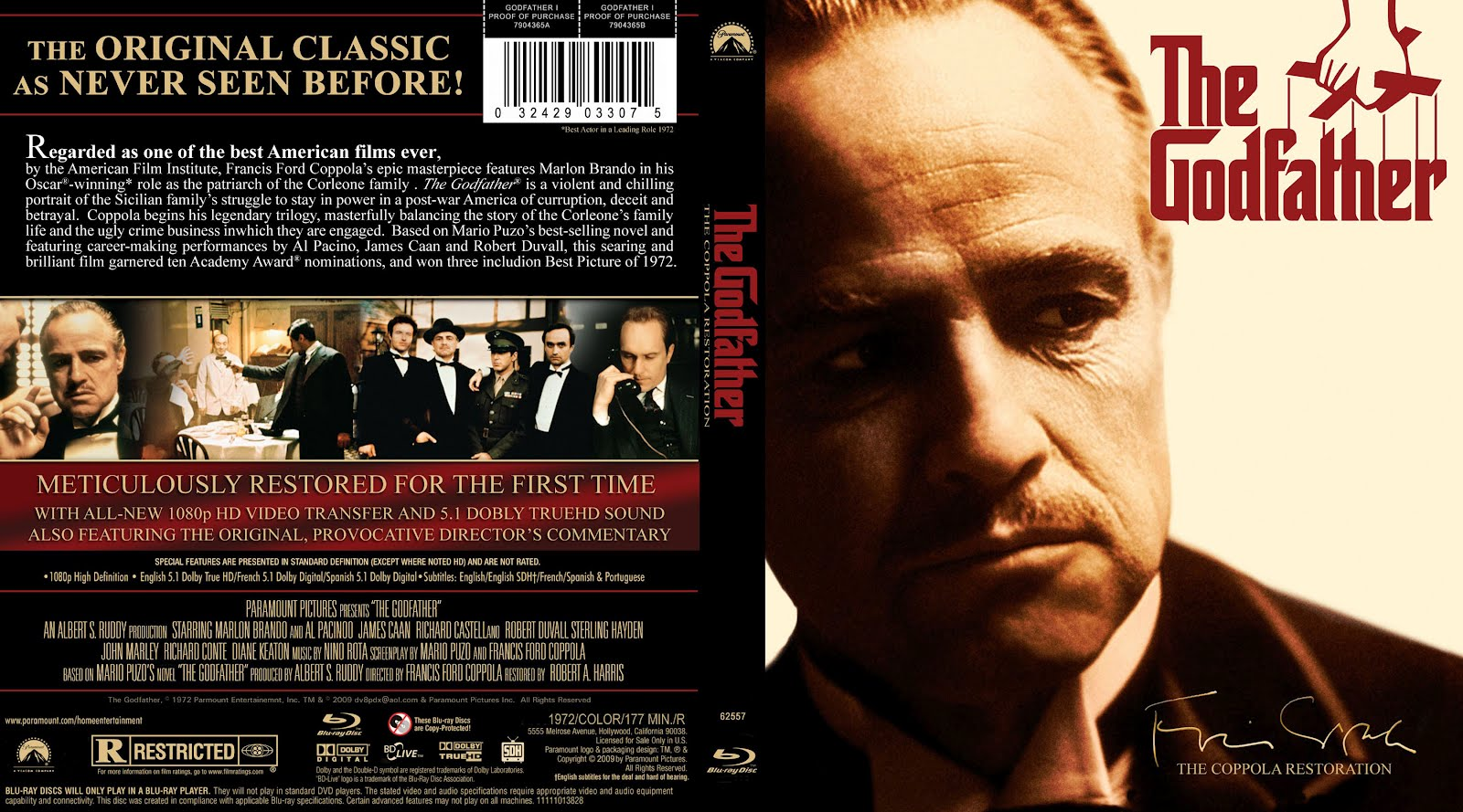 The Godfather Dvd Cover
