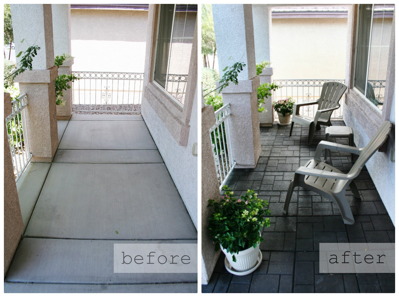 Our Front Porch Makeover With Home Depot Part Four Eighteen - Front porch makeover ideas
