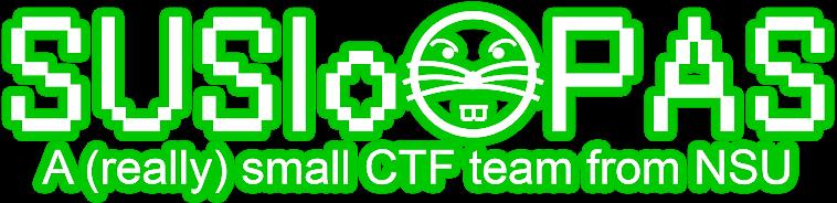 SUSlo.PAS CTF Team