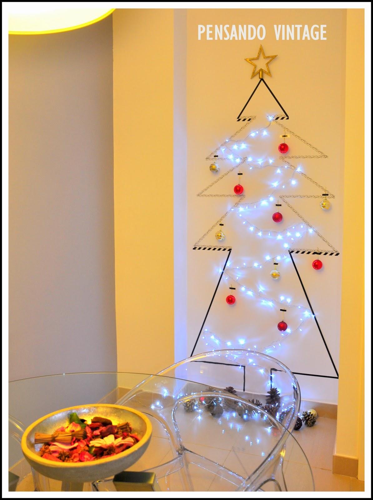 Adornos de pared decorar tu casa es - Arbol de navidad diferente ...