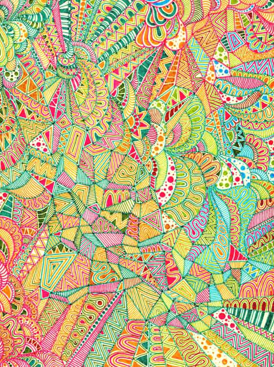 Patternprints journal psychedelic patterns by lu s alves for Poster psichedelici