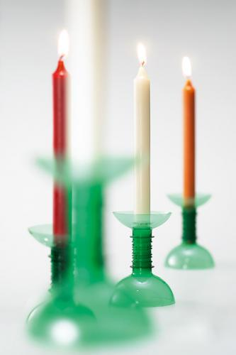 Plastic Bottle Candles