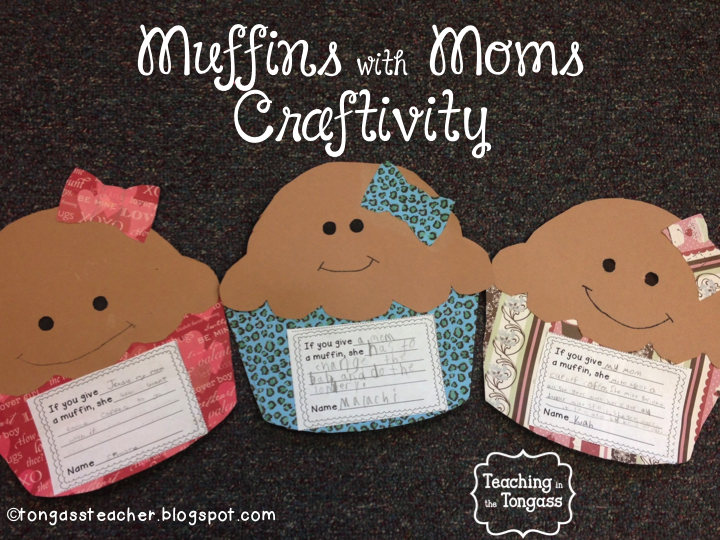 http://www.teacherspayteachers.com/Product/Muffins-with-Moms-Craftivity-631853