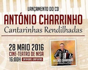 NISA: LANÇAMENTO DE CD DE ANTÓNIO MARIA CHARRINHO