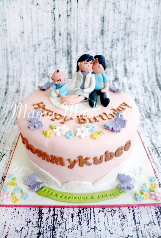 Romantic Birthday Cake Mama Made Cakes