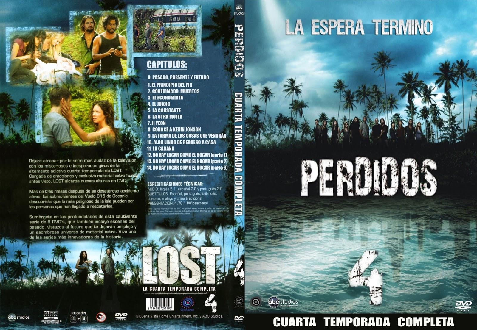 PELICULAS DVD FULL: LOST - PERDIDOS- CUARTA TEMPORADA COMPLETA
