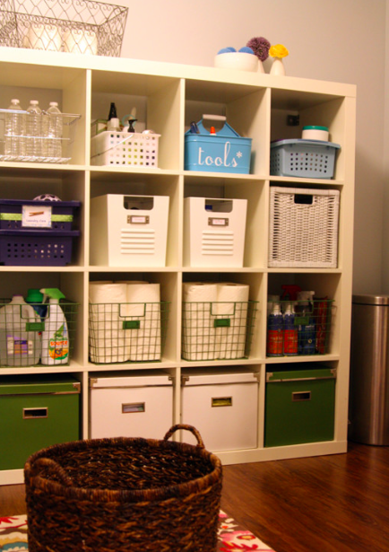Bringing the gold to your household storage ideas for the laundry room - Ideas for clothes storage in small space image ...