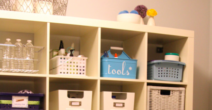 Family Ready Room Cubbies