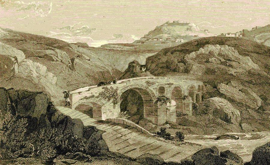 ΓΕΦΥΡΑ ΤΟΥ ΑΛΦΕΙΟΥ ΤΟ 1832