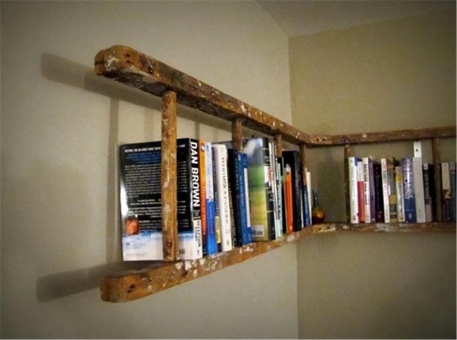 escaleras para bibliotecas