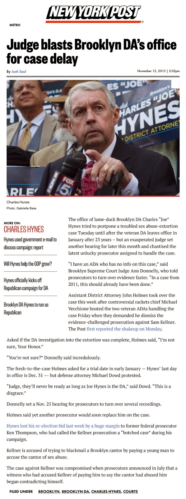 http://nypost.com/2013/11/12/judge-blasts-brooklyn-das-office-for-case-delay/