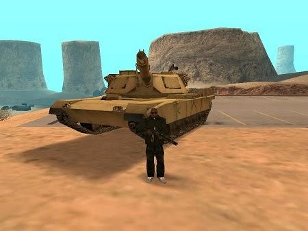 manhas de gta san andreas para pc tanque de guerra