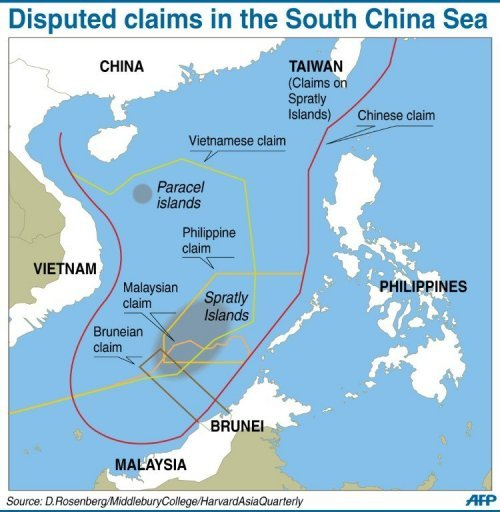 the south china sea conflict between different countries It showed the south china sea, with most of the waters encircled with  only  escalated the larger dispute, which involves several asian nations.