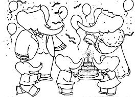 mewarnai gambar gajah untuk anak 20