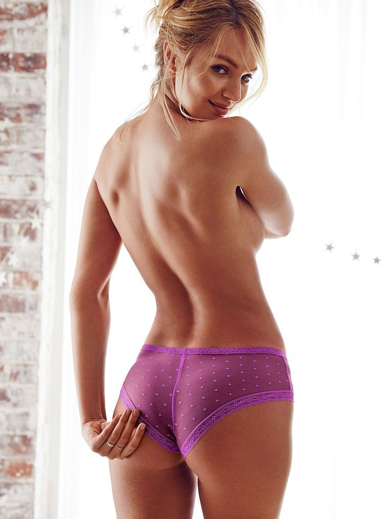 Candice Swanepoel goes topless for Victoria's Secret November 2015 Lookbook