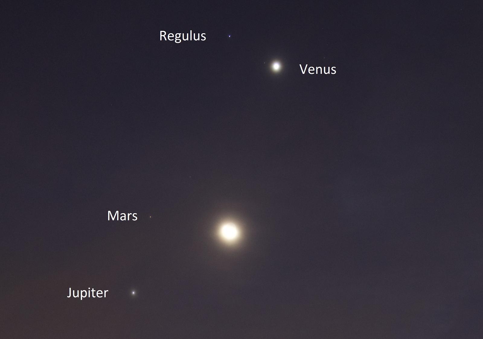mars venus moon conjunction photos - photo #18