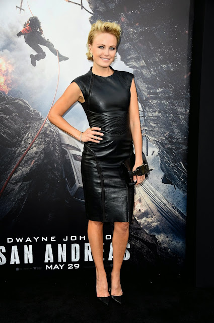 Actress, Model, Singer @ Malin Akerman - San Andreas Premiere in Hollywood