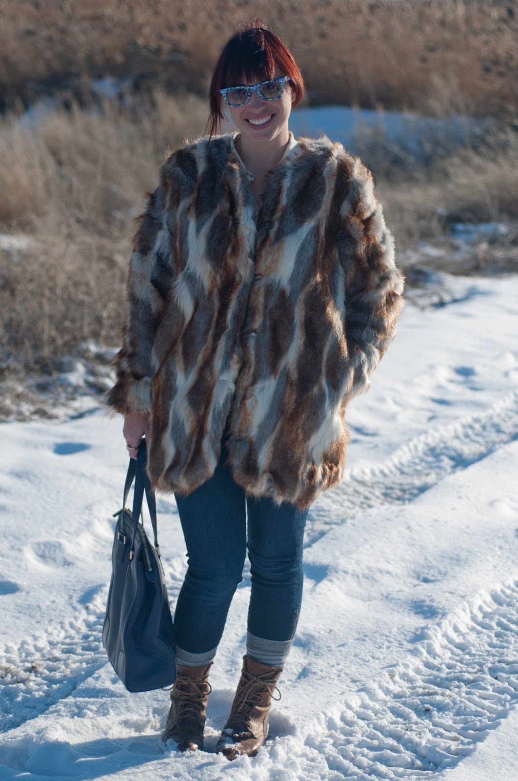 fashion blog, fashion blogger, style blog, mens fashion blog, mens style blog, womens fashion blog, anthropolgie ootd, ootd, ootd blog, mens style, floral, ray ban, floral ray bans, rayban wayfer, faux fur, asos, tory burch, boots, steven madden boots, tory burch purse