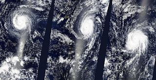 Hurrikan Kilo Ingnacio Jimena Kategorie 4 Pazifik Rekord Satellitenfoto HD HQ