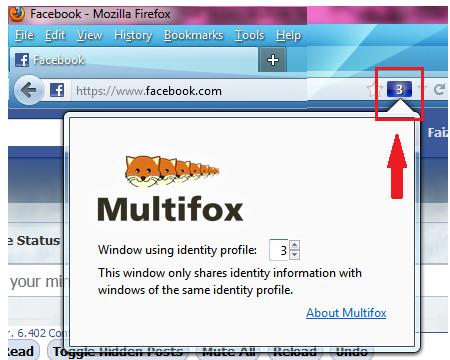 how to open 2 facebook accounts in firefox