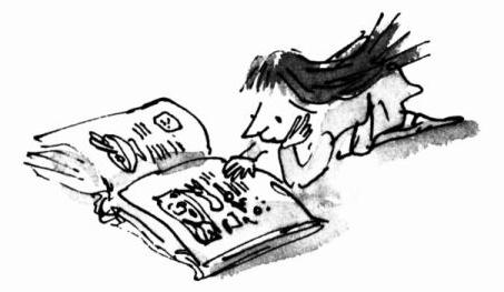leyendo Matilda en 2015