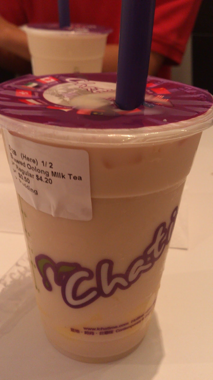 Chatime herbal tea -  Chatime Review