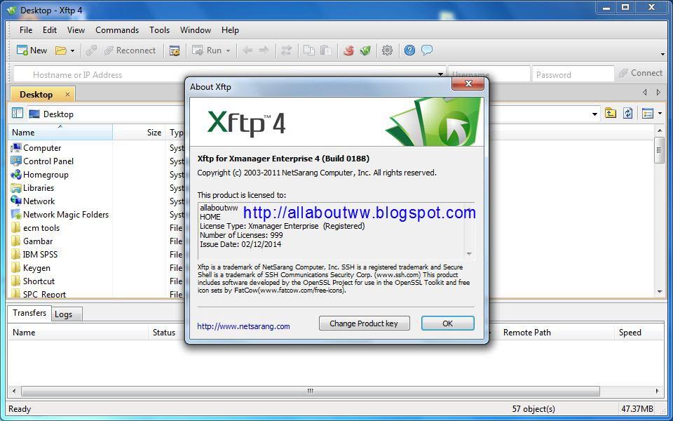 All About WW: NetSarang Xmanager Enterprise 4.0.0188 + Keygen