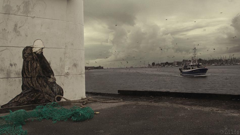 Zilda, street art, Lorient, Fragiles Fabulae