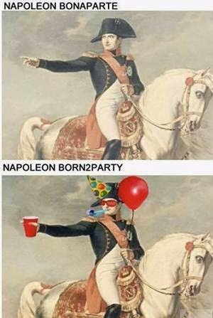 napolean-born-to-party