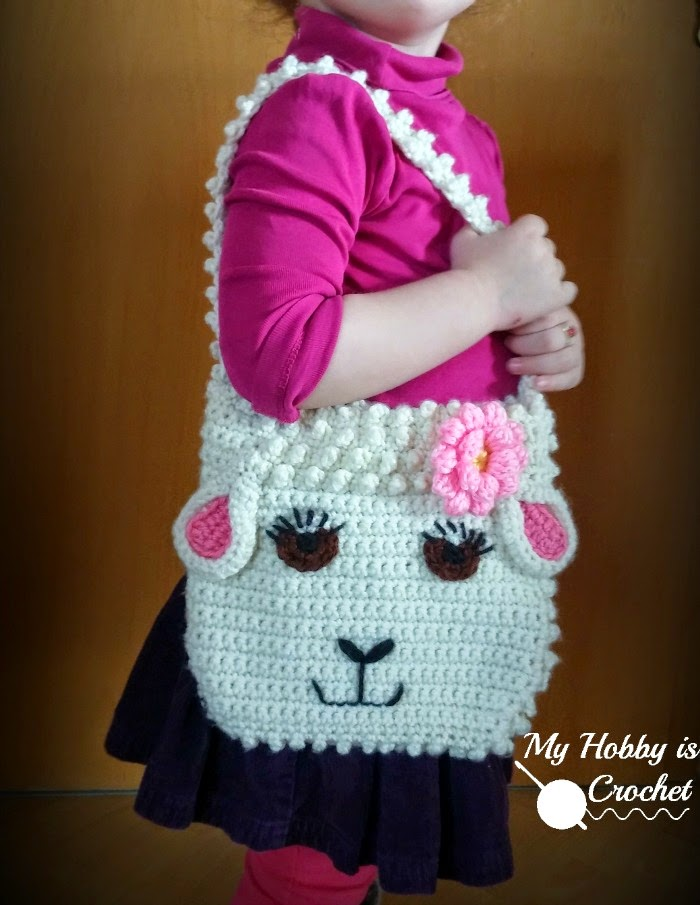 My Hobby Is Crochet: Darling Sheep Crochet Purse for Little Girls ...