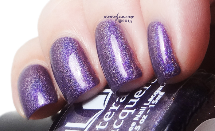 xoxoJen's swatch of Literary Lacquers Veronika