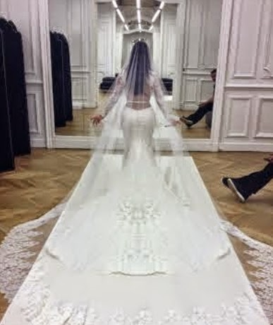 kim kardashian givenchy wedding dress