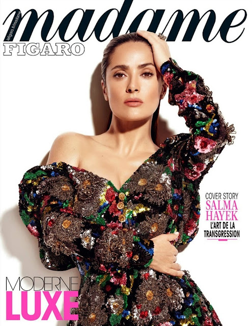 Actress @ Salma Hayek - Madame Figaro France, May 2015