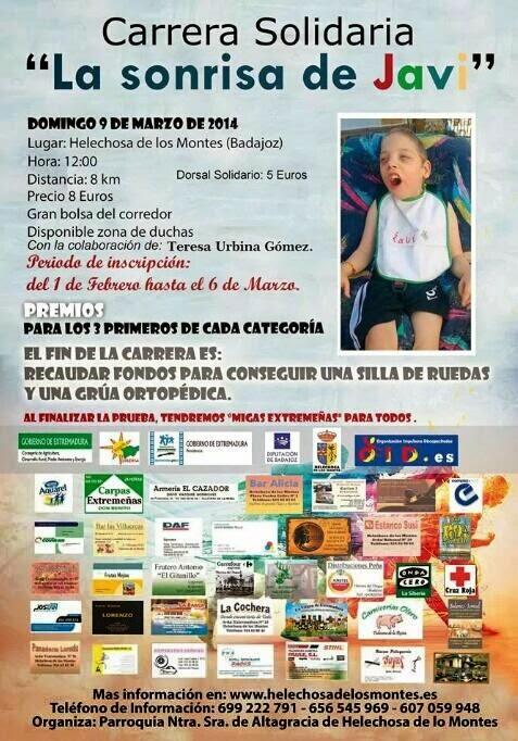 I Carrera Solidaria 2014
