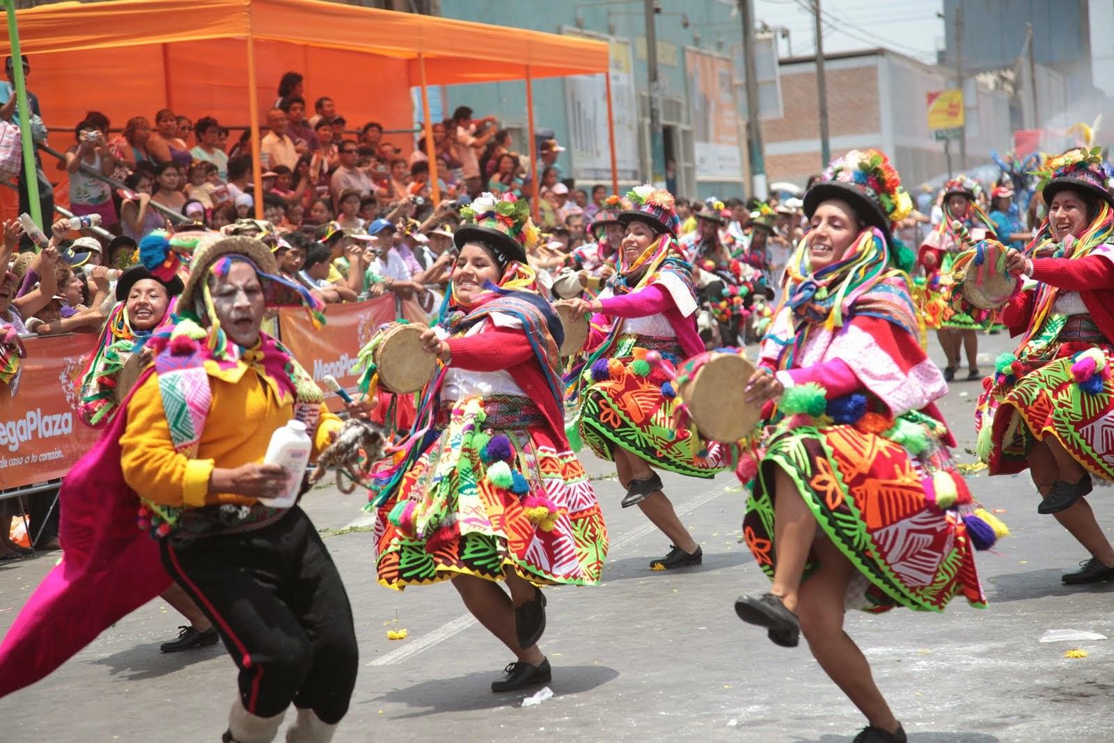 carnaval de chaca ayacucho curso taller de danzas folkloricas huanta