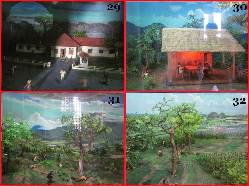 Diorama ke 29-32 Di Museum Bajra Sandi