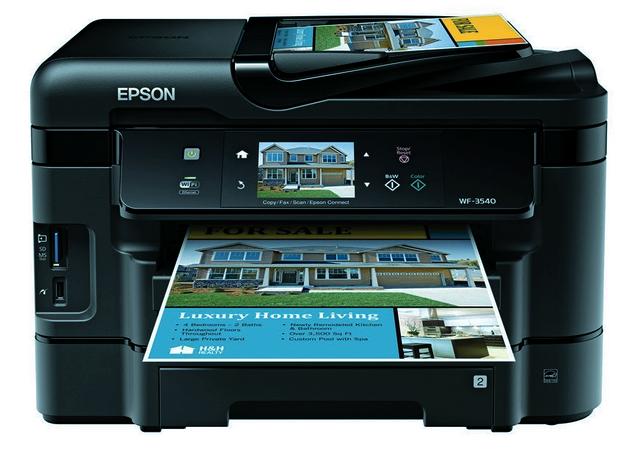 Epson WorkForce WF-3540 Driver Download